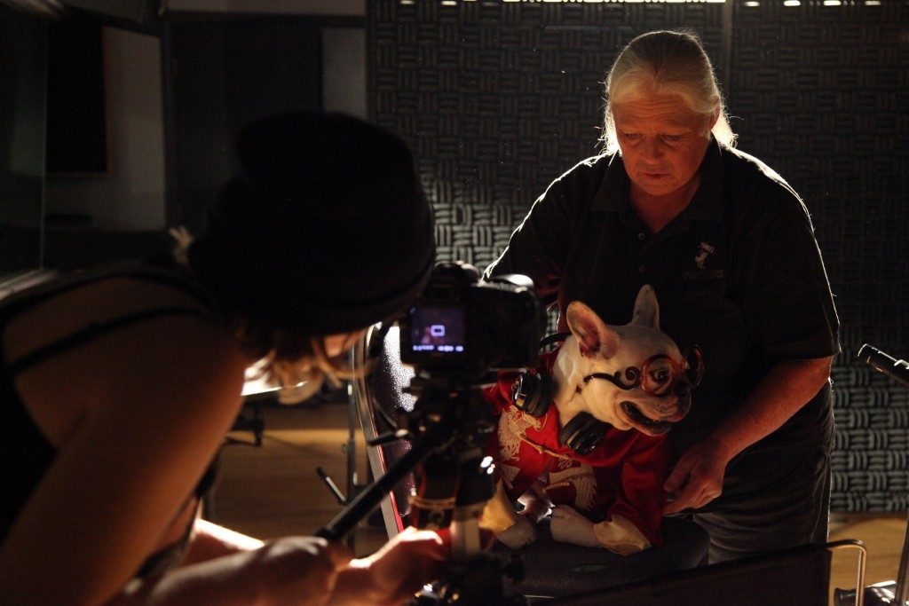 Behind the scenes - The Botanifits dog music video